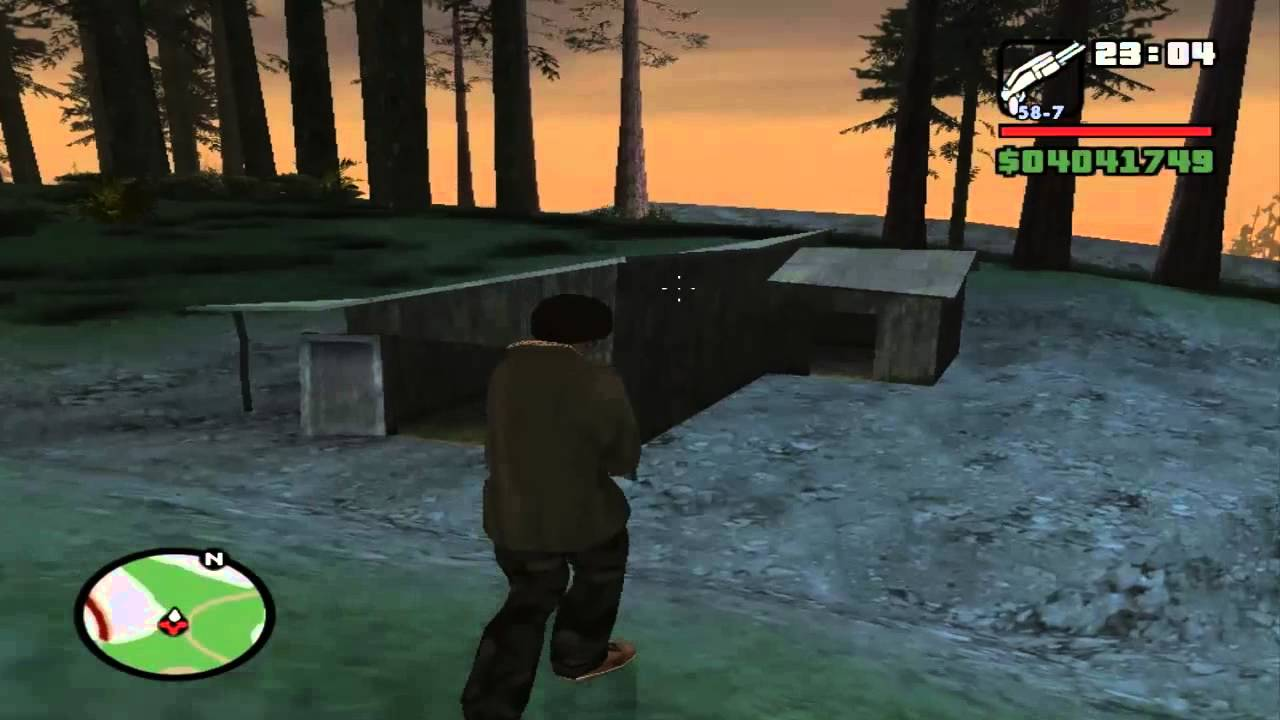 GTA: San Andreas Myths and Legends 1- Leatherface Hunt - YouTube