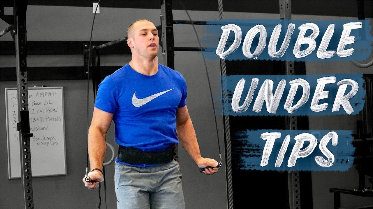 How to do double unders what helped me cole sager youtube