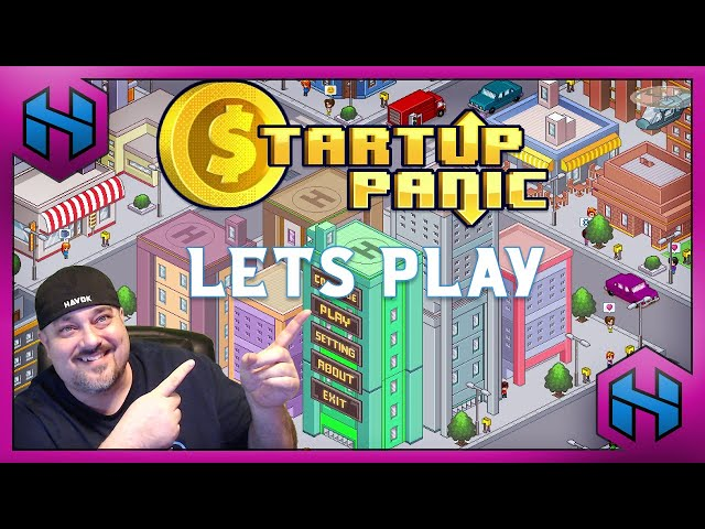 Let's Play: STARTUP PANIC | HAVOK LETS PLAY #ad