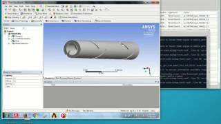 Ansys 15 Fluent CFD tutorial finned pipe heat exchanger