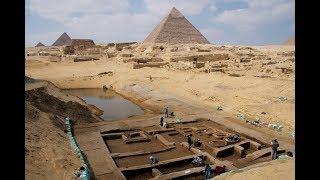 Раскопки в пирамидах Египта