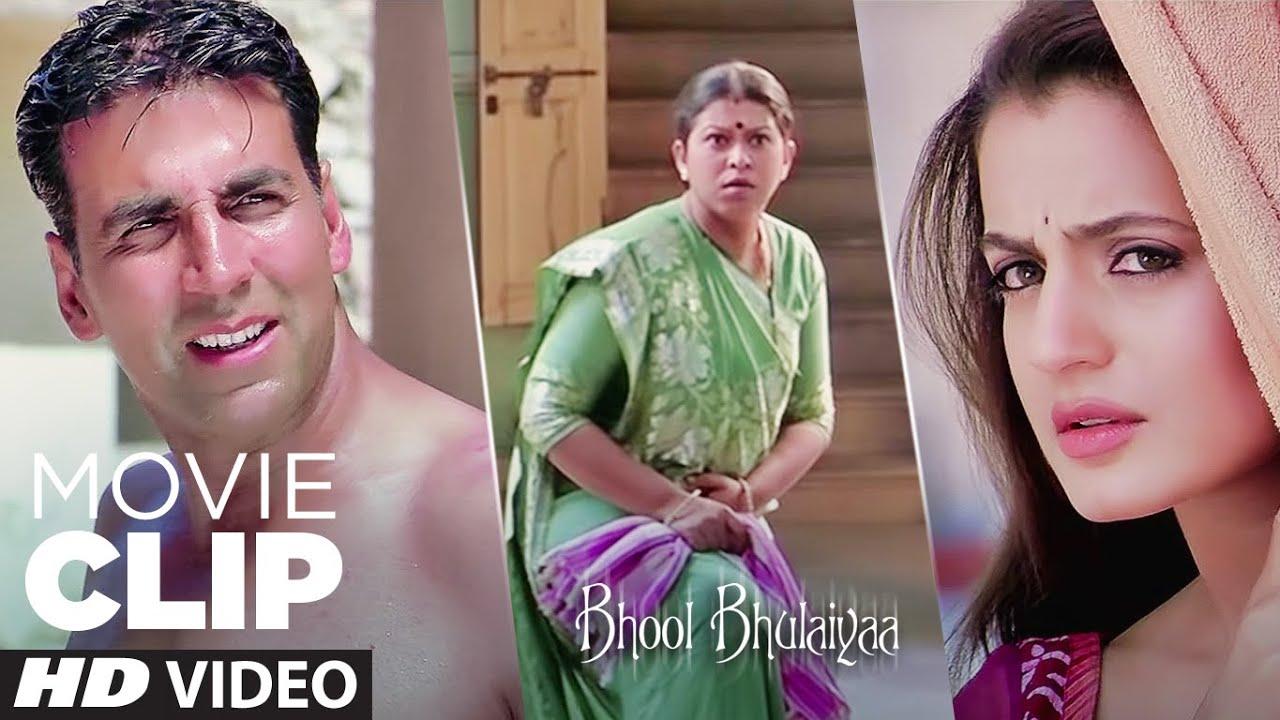 Download Tu Andar Jhank Rha Hai Kya?   Bhool Bhulaiyaa   Movie Clip   Akshay Kumar, Vidya Balan
