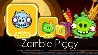 Bad Piggies - 3 STARS ZOMBIE PIGGY (Golden Crate)