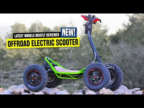 Top 8 Electric Scooters Ranked by Pricing and Off-Road Capabilities in 2020