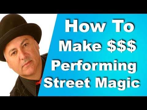 How To Make Money Performing Street Magic | Guest Jack Murdock| Advice For Magicians