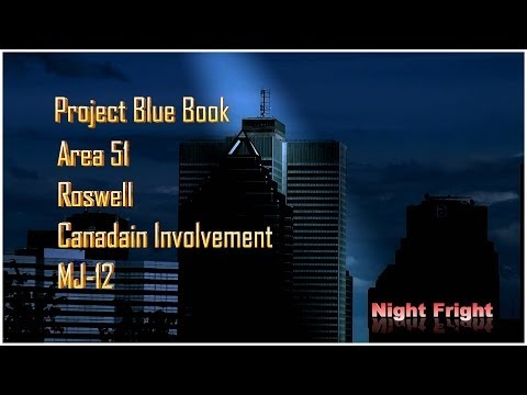 UFO video Conspiracy Area 51 Roswell Abductions Canada Don Donderi Night Fright  Brent Holland
