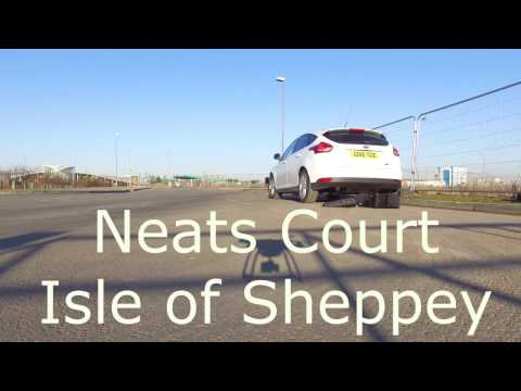 Drone footage of Neat's court, Isle of Sheppey.