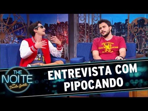 The Noite (25/05/16) Entrevista com Pipocando