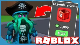Buying And Opening A Legendary Pet Crate - Roblox Halloween Simulator