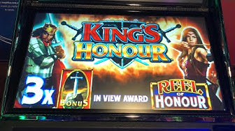 £2 a go Kings Honour . Going for 50 free spins or Bust + some other games . Success or fail ?
