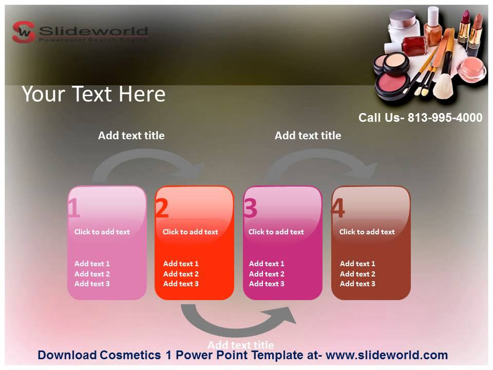 Cosmetics powerpoint template youtube cosmetics powerpoint template toneelgroepblik Choice Image