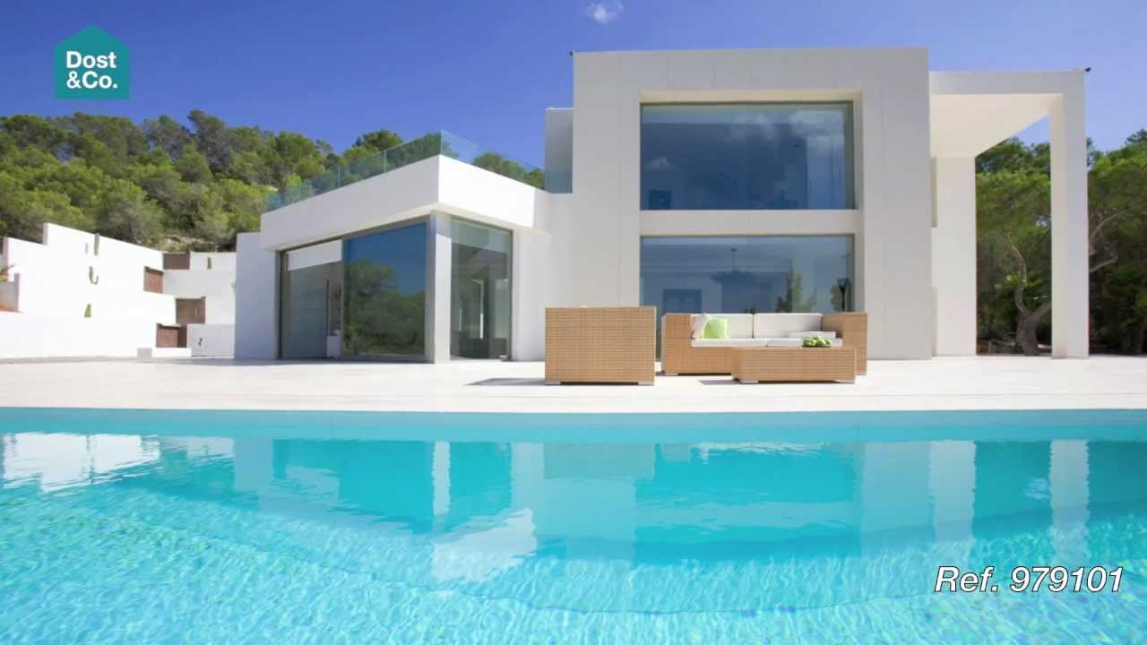 moderne villa mit meerblick san agustin ibiza dost. Black Bedroom Furniture Sets. Home Design Ideas