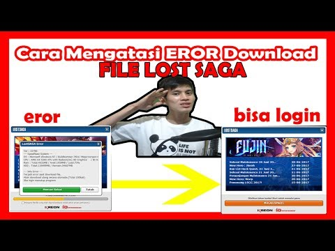 HOW TO RAISE THE ERROR ON DOWNLOAD FILE LOST SAGA