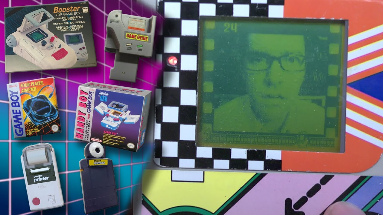 Game Boy Accessories – Angry Video Game Nerd (AVGN)
