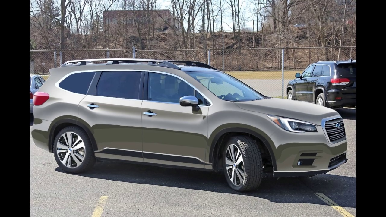 2018 subaru ascent. unique 2018 2018 subaru ascent  spy shot render preview in subaru ascent e