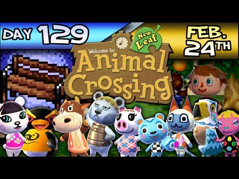Animal Crossing: New Leaf – Day 129 – Feb. 24 – I Dig This Golden Shovel!