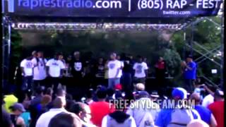 Quest The Wordsmith - Rapfest 2013 Freestyle [FREESTYLE FAM]