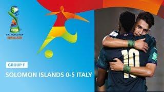 Solomon Islands v Italy Highlights FIFA U17 World Cup 2019
