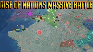 UPLOADED FROM MAIN Roblox Rise Of Nations MASSIVE BATTLE
