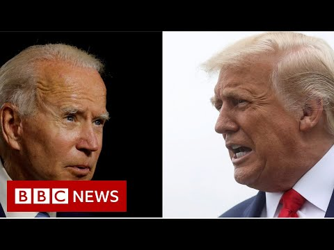 US election 2020: Trump and Biden face voters' questions - BBC News