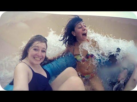 EPIC WATER PARK | Lost Paradise of Dilmun, Bahrain جنة دلمون المفقوده (Bahrain Travel Vlog)
