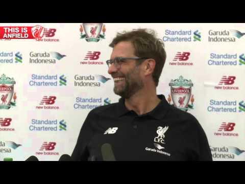 Jurgen Klopp sings Happy Birthday to Liverpool FC Press Officer