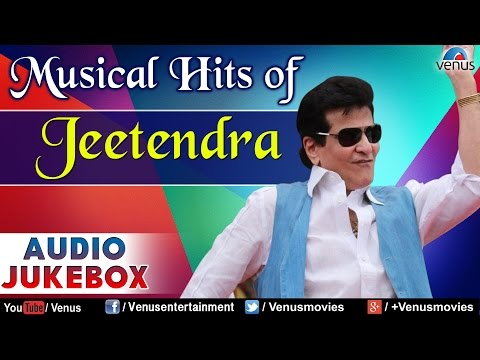 Musical Hits of Jeetendra : Best Bollywood Songs || Audio Jukebox