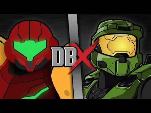 Samus VS Master Chief (Metroid VS Halo) | DBX