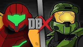 Samus VS Master Chief (Metroid VS Halo) | DBX