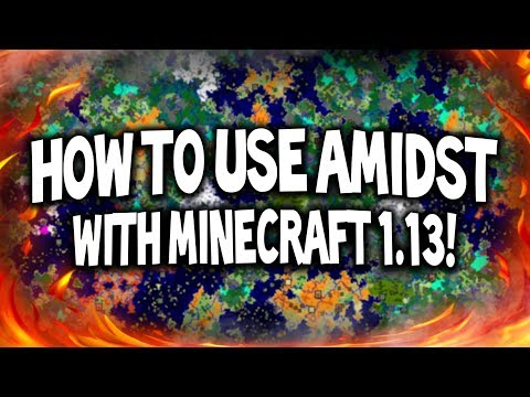 How to use Amidst with Minecraft 1.13?! 😱