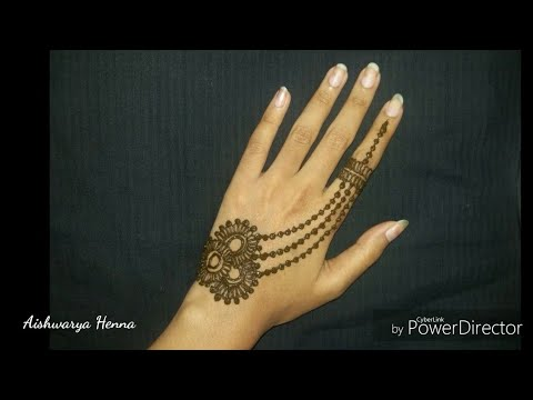 Best Mehendi Design 2018 | Jewellery Mehendi Design #mehendi #mehandi #mehndi #henna #tattoo