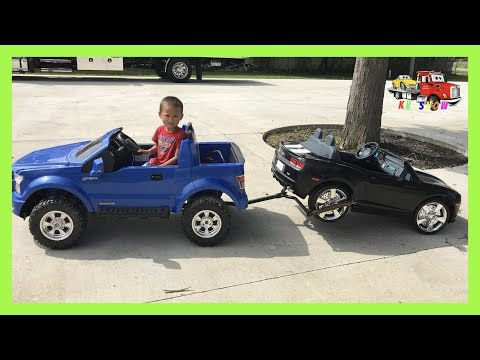 Powered Ride On Ford F-150 Making It A Tow Truck On KV Show