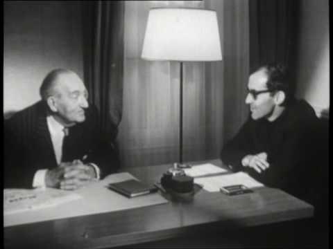 Conversation entre Fritz Lang et Jean-Luc Godard