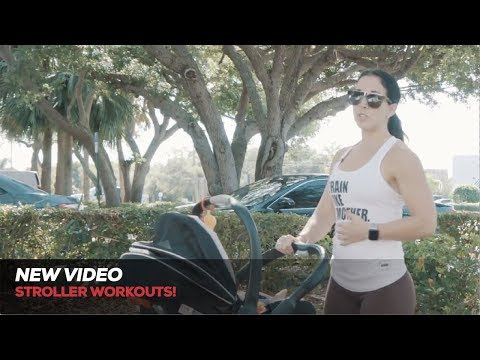 Darielle Singerman's Stroller Workouts! Fitness For Mothers and Kids!