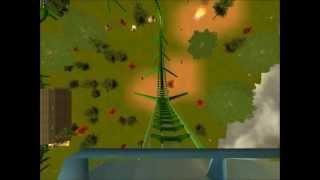 Rct3-Junge Run [Backwards Slingshot Coaster]