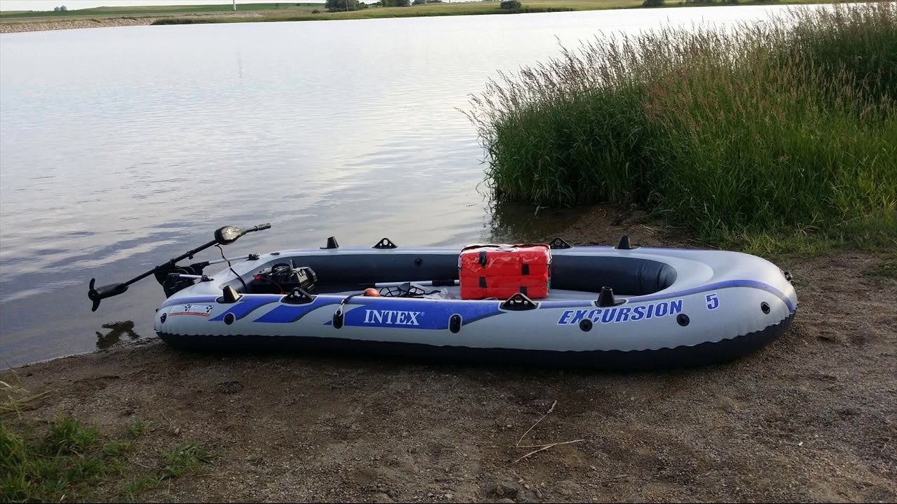 Water Sports Intex Excursion 4 Inflatable Rafting Fishing 4