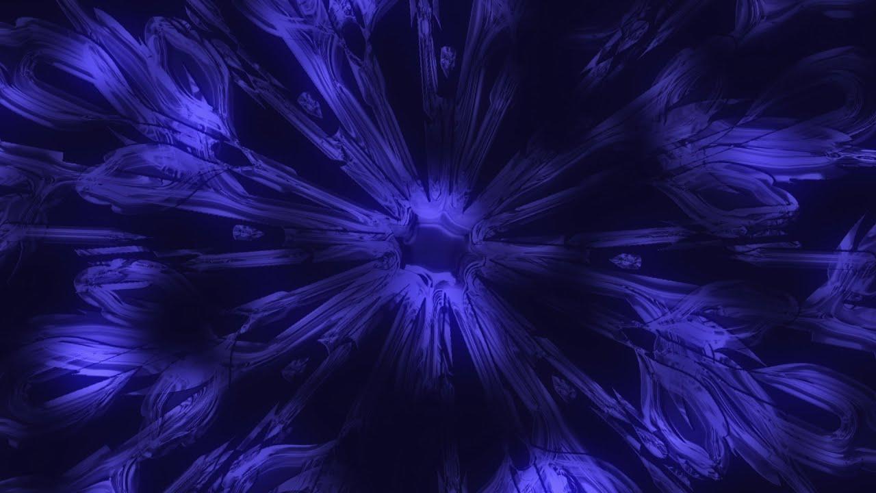frozen snowflake - hd video background loop