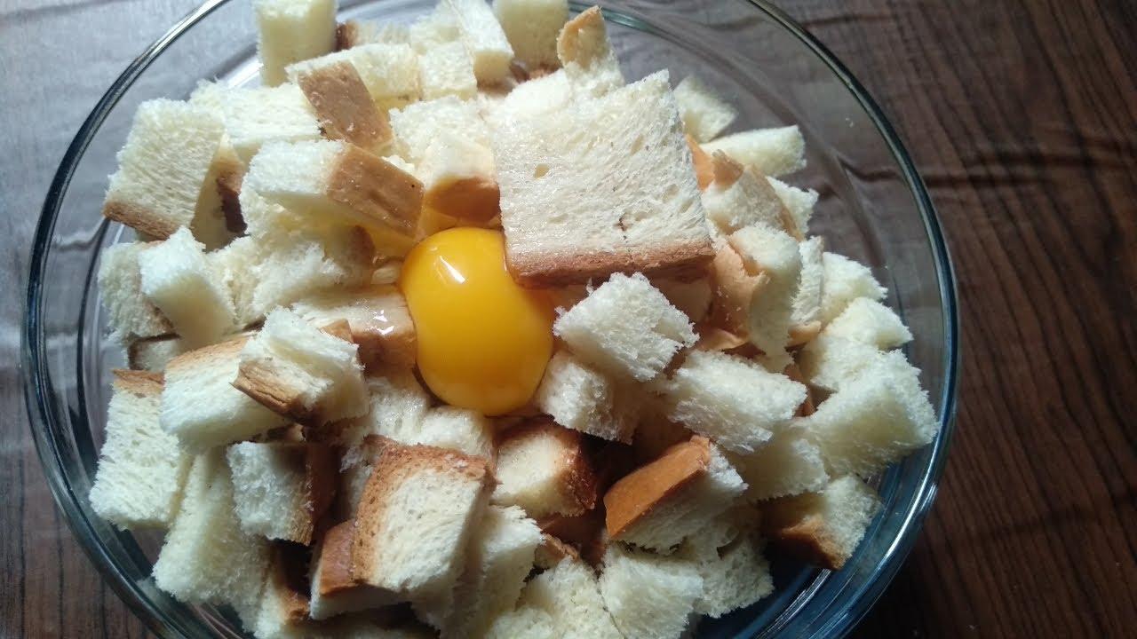 Olahan Roti Tawar Dan Telur Bisa Jadi Cemilan Enak Banget Youtube