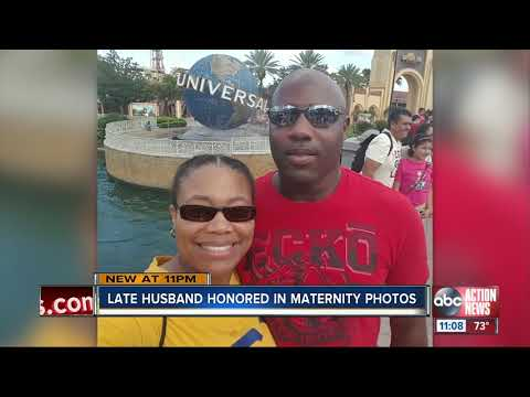 Mychal Maguire - Grieving Tampa Mother To Be Honors Late Husband In Maternity Photos