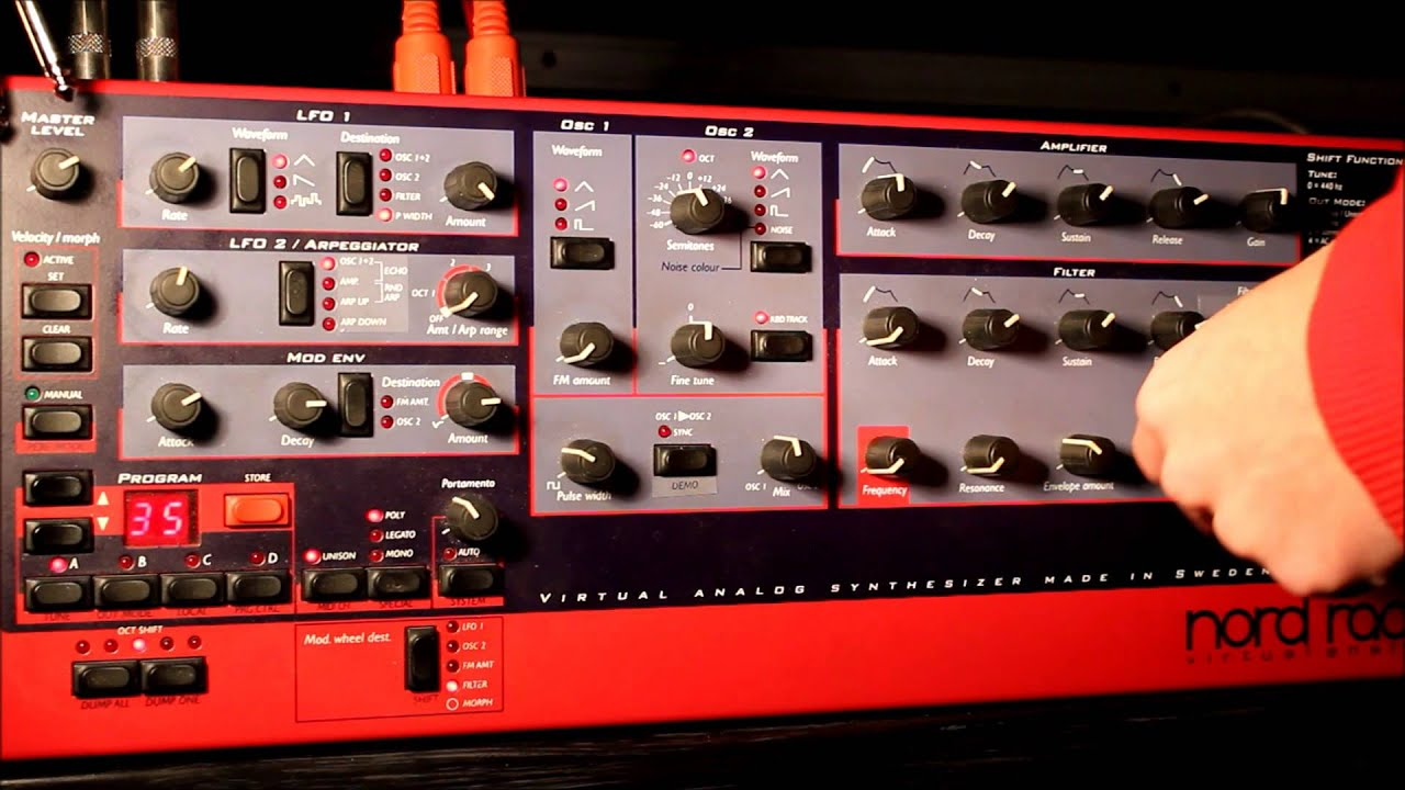 Clavia Nord Lead Rack - Nord - Encyclotronic