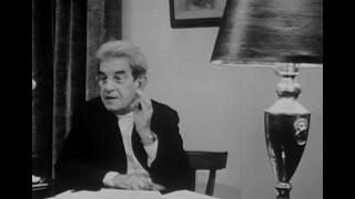 Jacques Lacan: Télévision (La Psychanalyse 1 & 2) [English subtitles]