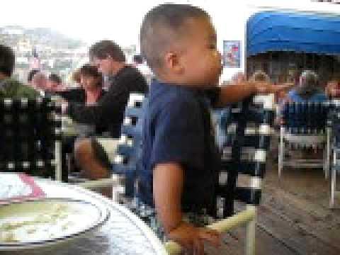 Alan Dine in Catalina Island Summer 2009