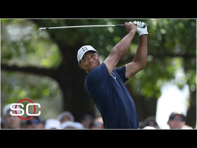 Tiger Woods in the hunt after Round 1 at the Masters | SportsCenter