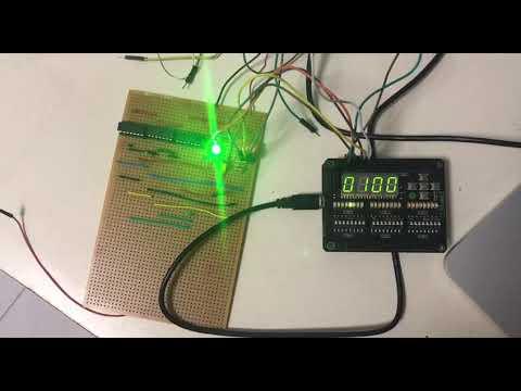 Mini Hardware Project - MOJO FPGA IO shield integration 1-bit Full Adder