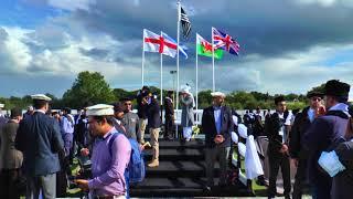 Flag Hoisiting by Khalifa of Islam at Ahmadiyya Muslim Youth Association Annual Ijtema 2017