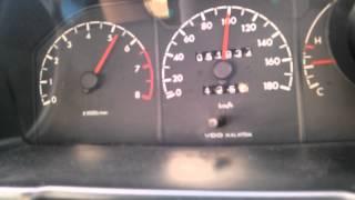 Proton Iswara 4G13 - ACCELERATION- 0-100 ! ! ! !