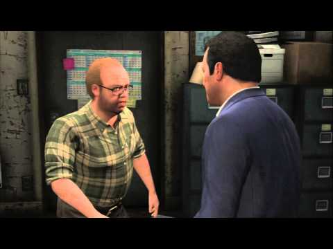 Grand Theft Auto V - Casing The Jewel: Niko Bellic GTA IV Easter Egg (Referance) By Lester Crest PS3