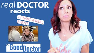 Real Doctor Reacts to Good Doctor  Eye Cancer