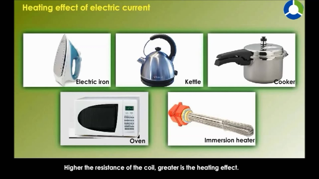 Electric Heating Iron Effect ~ Heating effect of electric current youtube