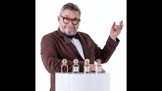 Александр Васильев историк моды представляет свою первую коллекцию парфюма от компании Mirra